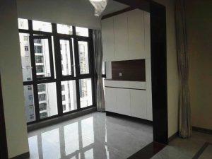 龙军花园,3期高楼层精装4房首次出租!
